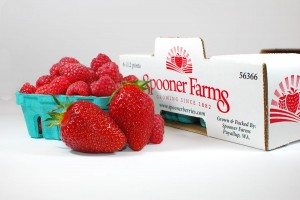 Our delicious Spooner Farms Strawberries available in Orting, Puyallup and Sumner, WA